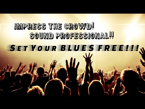 Blues Guitar Soloing Mindset!  Sounding Professional (With A Pentatonic) With Chart