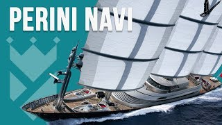 PERINI NAVI AND THEIR AMAZING ARRAY OF SUPERYACHTS!