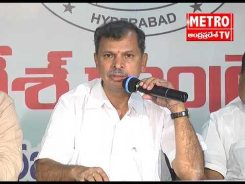 AP Congress Welcomes Supreme Court Decission on Palamuru Dindi LI Projects | Metro TV Telugu