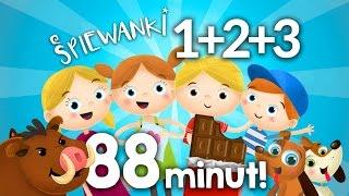 ZESTAW PIOSENEK DLA DZIECI 88 minut. 1+2+3 płyta Śpiewanki.tv - najlepsze piosenki dla dzieci