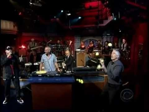 Chris Bliss: Live on Letterman with FatBoy Slim