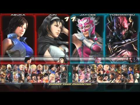 Tekken Tag Tournament 2: 1 Hour of HD Footage with Top Players