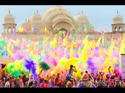 Gopro Crazy Holi Colour Festival India Amazing Youtube
