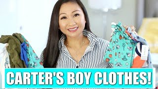 CARTER'S CLOTHING HAUL!  | Baby Boy and Toddler!