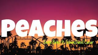 Download lagu Peaches - Justin Bieber ft. Daniel Caesar, Giveon [Lyrics Video]