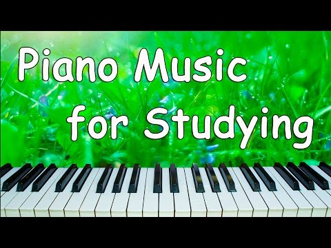 Relaxing Music for Studying and Concentration | Study Music Instrumental | Piano Music for Studying