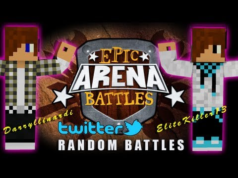 Twitter Picked Random Epic Arena Battles - EliteKiller13  vs Darryllinardi
