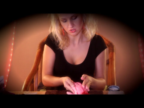 SUPER TINGLY & relaxing ZOMBIE SPA manicure - Binaural ASMR role play *Halloween special*