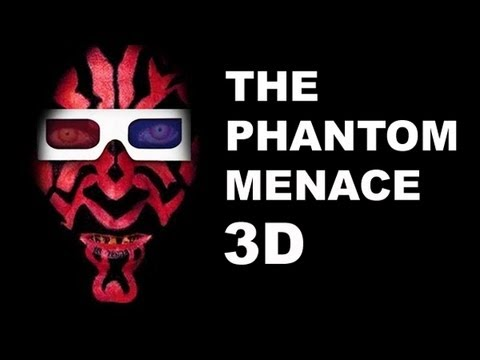 Star Wars 3D - Episode 1 The Phantom Menace Movie Review: Beyond The Trailer