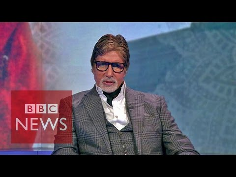 Amitabh Bachachan tackles India's poverty