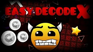 [Geometry Dash 2.0]If DecodeX was lvl 1 by Bypipez