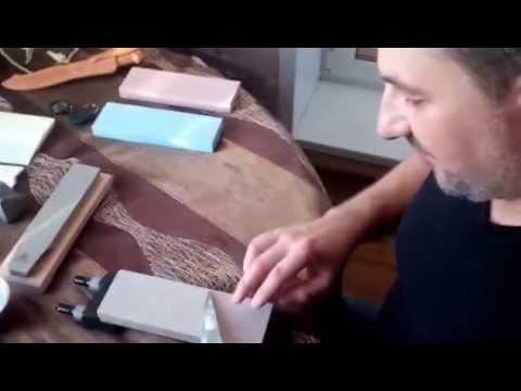 Как правильно наточить инструменты–выбор материала для заточки