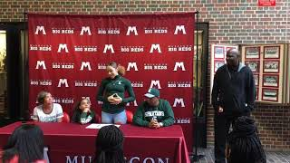 Muskegon's Alyza Winston makes it official with Michigan State's women's basketball program