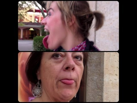 LONGEST TONGUE CONTEST! (daily vlog)