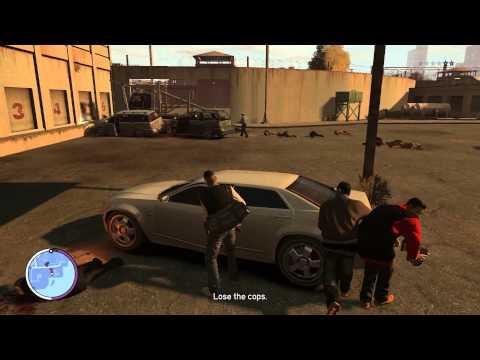 GTA 4 - EFLC - Luis Lopez - Drag Wars - Gameplay