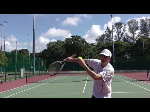 Tennis Serve Pronation Exercise For Top Spin Serves