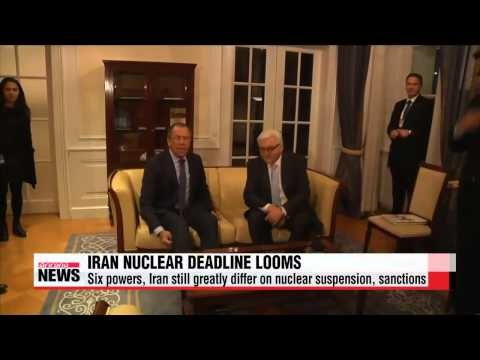 Iran and P+51 face nuclear talks deadline 이란-주요 6개국, 핵협상 시한 재연장 협의
