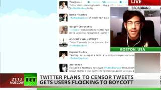 Censorship Senseless? 'Twitter always faster than govts'