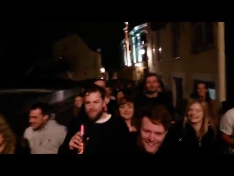 The most drunk and disorderly pub crawl in Tallinn's history