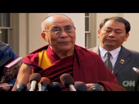 Dalai Lama meets with Obama