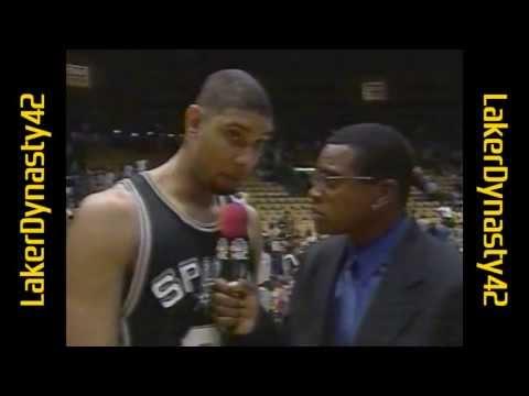 1999 WCSF, Gm 4: Shaq vs. Duncan
