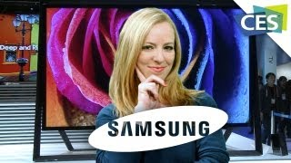 Samsung's Innovative Brand New TVs from CES 2013