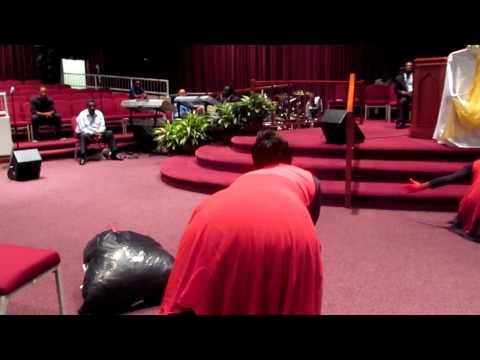 At your feet: Valencia Lacey CNTCOG Youth Convention '12'