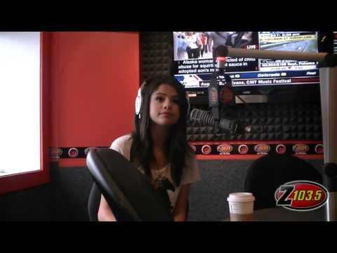 Selena Gomez Super Sexy Radio Interview video
