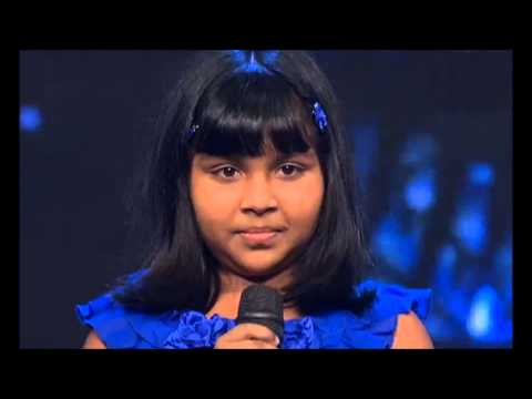 anjana performing bindiya chamkegi in indian idol junior 2013...