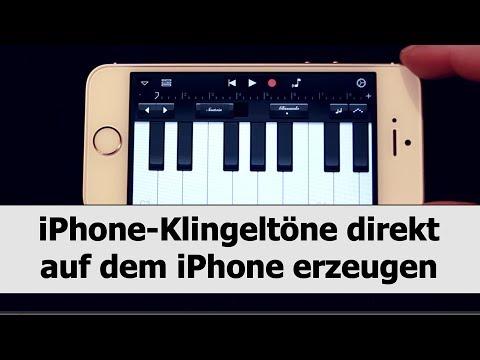 Iphone-klingeltöne Selber Direkt Auf Dem Iphone Erstellen Mit Garageband video