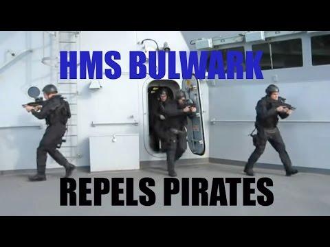 CRHnews - 2/5 HMS Bulwark + Maritime Combat Power PIRATES 2011