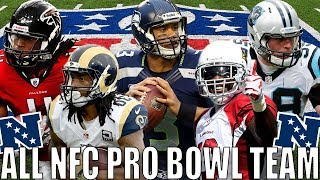 ALL NFC PRO BOWL TEAM! UNREAL TALENT! JULIO JONES, GURLEY, ETC.