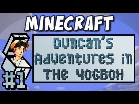 Minecraft: Duncan's Adventures in The Yogbox - Part 1 - How to Survive your First Goat
