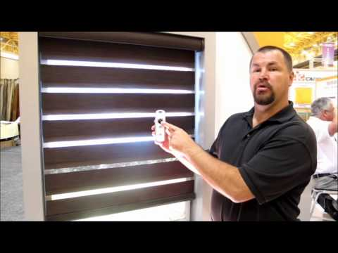 Lafayette Allure Dual Shade with Somfy Motors by 3 Blind Mice Window Coverings San Diego
