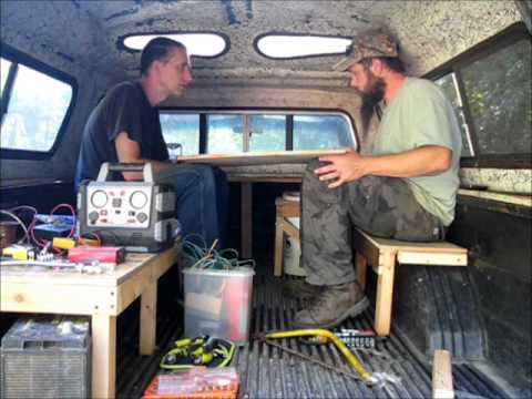 Pimp My Bug Out Survival Vehicle Making A Truck Camper In Two Days