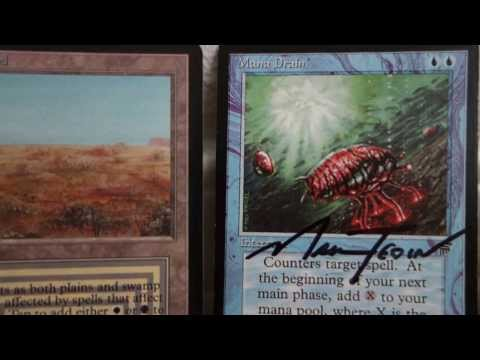 Vintage Magic Reviews | Which ones are counterfeit? with Black Lotus & Power 9 cards | PART 2 of 2