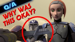 Why Did Bo-Katan Accept the Darksaber in Star Wars Rebels - Star Wars Explained Weekly QampA