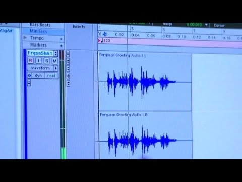 Analyzing the Michael Brown audio recording