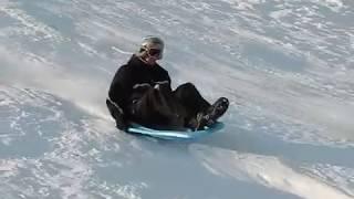 Wicked sledding crashes 2