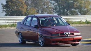Alfa Romeo 155 2.0 T.Spark race car on track
