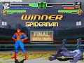 Mugen Single Battle #4: Spiderman vs. Venom