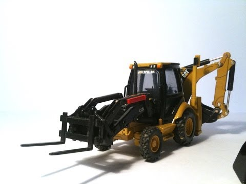 REVIEW CAT 432E Backhoe - Norscot n.55149