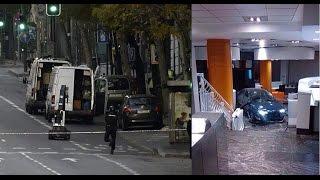 Un parado de Teruel estrella su coche con dos bombonas de butano en la sede del PP
