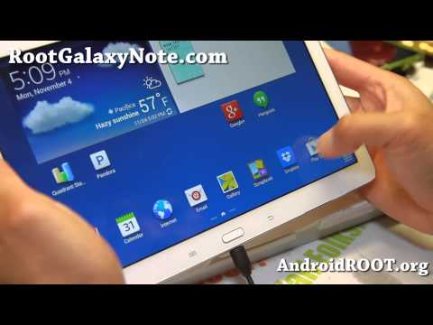 How to Root Galaxy Note 10.1 2014 Edition!