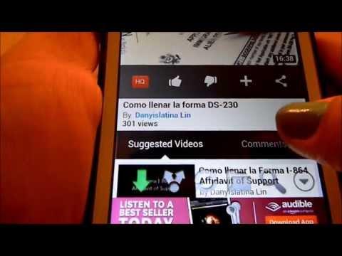 Como bajar videos y musica de youtube a un telefono android