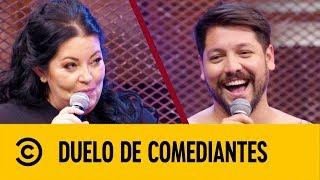 Gloria Rodríguez VS Luiki Wiki | Duelo De Comediantes | Comedy Central LA