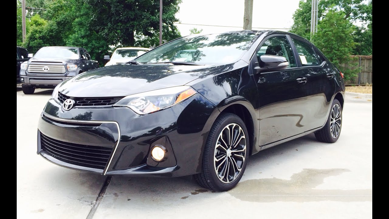 2015 toyota corolla black 200 interior and exterior images. Black Bedroom Furniture Sets. Home Design Ideas