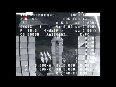 Russian Cargo Ship Departs the International Space Station