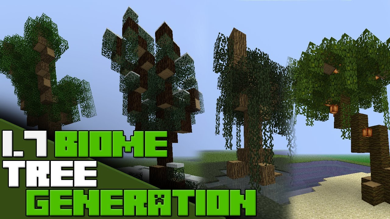 Minecraft 17 New Biome Tree Generation Ideas Forest
