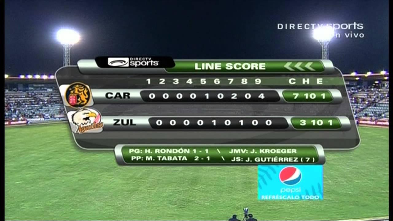 Leone Del Caracas Leones Del Caracas 7-3 águilas